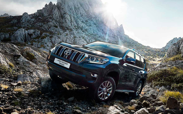 Toyota Land Cruiser Prado Элеганс 2.8л Дизель 6 АКПП
