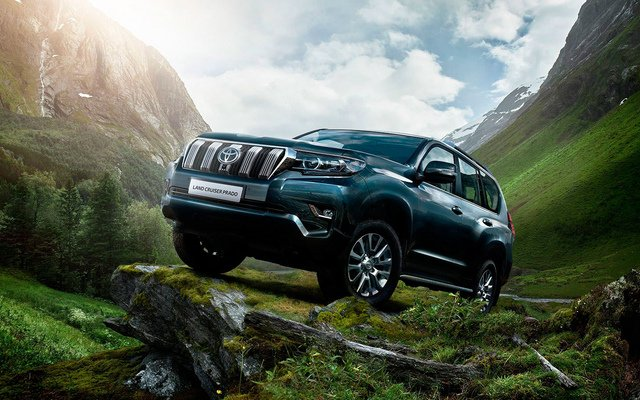 Toyota Land Cruiser Prado Престиж 4.0л Бензин 6 АКПП