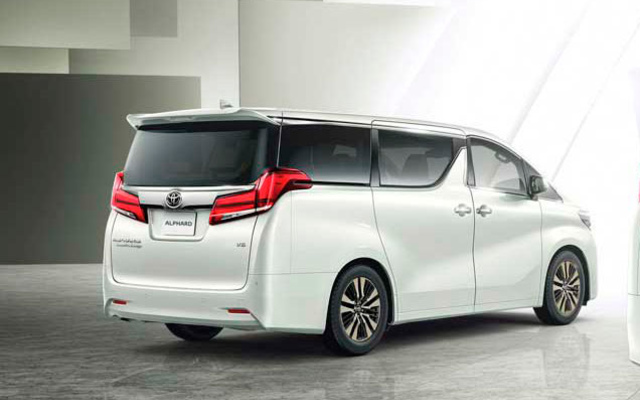 Toyota Alphard Executive Lounge 3.5л Бензин 8 АКПП