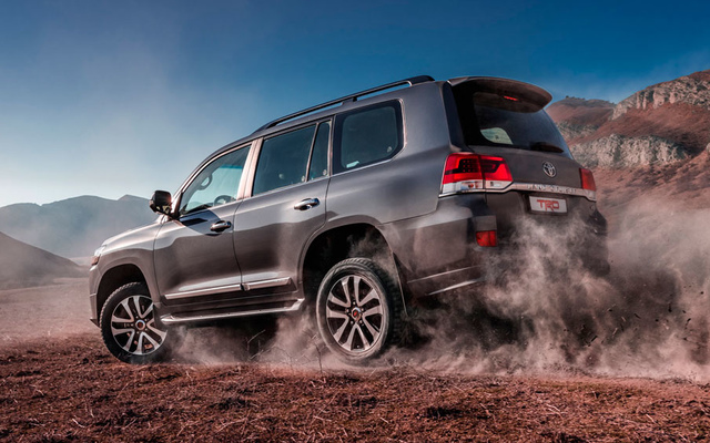 Toyota Land Cruiser 200 TRD 4,6л Бензин 6 АКПП